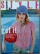 The Sunday Times Style magazine 18.12.16 - Lily-Rose Depp