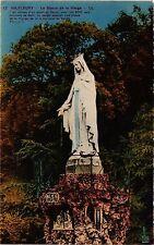 CPA  Valfleury - La Statue de la  Vierge  ...  (294046)