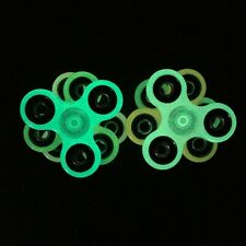 NYC LOT 6 PCS Fidget Spinner Toy Glow In the Dark MIX 3 COLORS