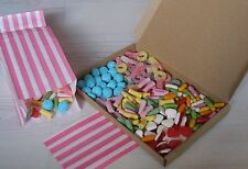 Cinema Box of Pick and Mix Sweets. Traditional Retro Sweet Club Snack Box
