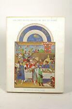 Les Tres Riches Henres Du Berry 12 Tipped in Color Plates, Jean Porcher - Les Ed