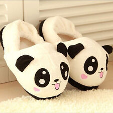 Funny Panda Eyes Women Cute Slippers Lovely Cartoon Indoor Home Soft Shoes