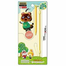 New Animal Crossing Tom Nook Tanukichi Touchpen Leash For New Nintendo 3DS LL JP