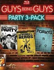 Guys Being Guys Party Blu-ray (Bachelor Party / Revenge of the Nerds / Porky's)