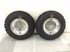 "DWT A5 Wheels and MXF 20"" Front Tires Mounted 20x6x10 MX Honda 450R 250R 400EX"