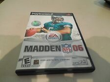 MADDEN NFL 06 FOR PS2 FOOTBALL GAME
