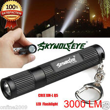 3000 Lumen Portable CREE XML Q5 Super Bright Torch Outdoor Camping Flashlight