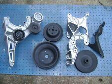 Chevrolet 350 TBI Single Serpentine Belt Bracket and Pulley Set
