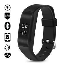 Original iWOWN C5 OLED GPS Band Smart Wristband Bracelet Heart Rate Monitor IP65