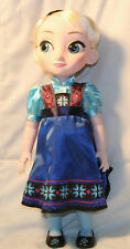 """DISNEY STORE FROZEN ELSA DOLL FIRST EDITION SOLD OUT RARE 16"""" HTF"""