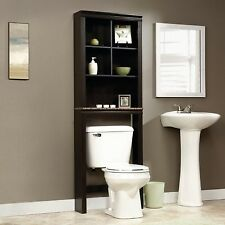 Bathroom Cabinet Over The Toilet Shelves Bath Towels Storage Organizer Shelf New