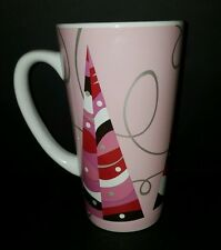 Star Bucks 2014 Pink Trees Holliday Christmas Coffee Mug Cup 20 Oz