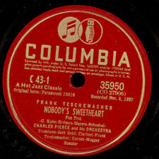 CHARLES PIERCE ORCH. -FRANK TESCHEMACHER- Nobody's sweetheart / Sister Kate X961