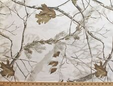 Realtree AP White Twill Camouflage Polyester/Cotton Fabric by the Yard D909.06