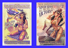 JOHN CARTER WARLORD OF MARS #1 2 POULAT SUBSCRIPTION & INC VARIANT DEJAH THORIS
