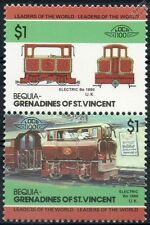 1890 London Underground Electric Bo (City & South) Train Stamps / LOCO 100