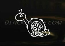 BOOSTED ANGRY TURBO SNAIL Car Van Decal Graphic Sticker Euro DUB JDM Drift VAG
