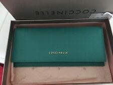 COCCINELLE - Portafoglio Donna Coccinelle in pelle saffiano colore Verde
