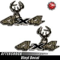 Dakota Truck Sticker 4x4 Camo Deer Hunting Decal