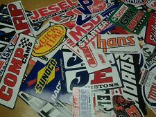 Lot of 30+ Racing Decals Stock Car Nascar Dragster Stickers Street Outlaws