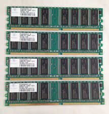 Lot of 4 Nanya 256MB DDR-333MHZ-CL2.5 PC2700U-25330