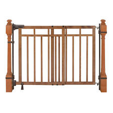 Summer Infant 32-48 inch Banister and Stair Gate with Dual Installation Kit
