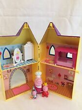 Peppa Pig Castle/Secret Play Set con 3 caracteres Tower y Muebles