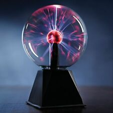 "7"" Plasma Ball Touch & Sound Motion Disco Party Light Nebula Thunder Globe"