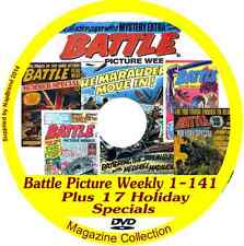 Battle Picture Weekly 1-141 on DVD plus 17 specials includes viewing software