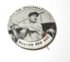 1950's PM10 Baseball Stadium Pin/Button/Coin Ted Williams Boston Red Sox Pinback