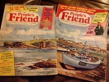 2 X People's Friend Magazine 1st & 29th March 1986 Vintage Knitting Knit Pattern