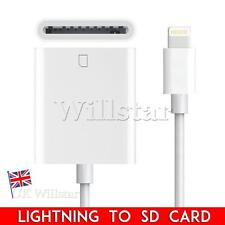 Lightning A Lector De Tarjeta SD Cámara Foto 8 Pin Adaptador Para iPad Mini Air iPhone