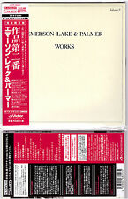 Emerson Lake & Palmer, Works, Volume 2 [Cardboard Sleeve] [Platinum SHM-CD]