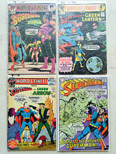 Superman World's Finest Neal Adams Issues 200 201 210 214 Silver-Bronze Age KEYS