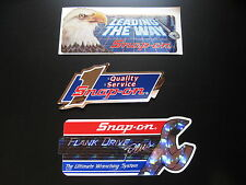 Snap-on Snap on Tools Tool Box Sticker Vintage Lot Racing Decal Garage Retro