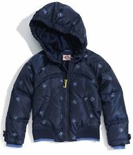 JUICY COUTURE KIDS CROWN EMBROIDERED DOWN PUFFER JACKET SZ 10 NWT $208 JYRU6369