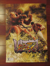Ultra Street Fighter 4 poster Ryu Ken Capcom  14x20