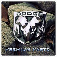 Dodge Ram Emblem 1500 2500 3500 Tailgate Ram Head Medallion Oem Chrome Black New