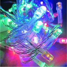Mix-Color RGB 500LED Xmas Fancy Fairy Lights Tree String Christmas Party 100M