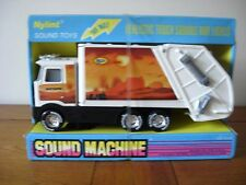 NYLINT STEEL SOUND MACHINE REFUSE TRUCK NUMBER 9145