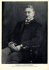 """Letzte Aufnahme von Cecil Rhodes der """"Napoleon Südafrikas"""" Bilddokument 1902"""