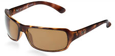 POLARIZED Authentic RAY-BAN HIGHSTREET Tortoise Brown Sunglasses RB 4075 642/57