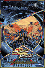 Starship Troopers by Kilian Eng - Mondo Artist Rare Sold Out Edition of 90