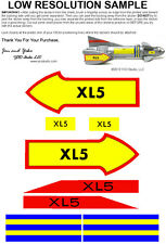 Museum Quality Reproduction MPC Fireball XL5 Sticker Set Decals Steve Zodiak
