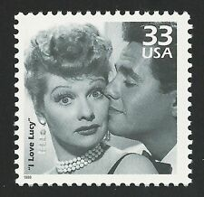 SPECIAL! I Love Lucy Lucille Ball Desi Arnaz Ricky Ricardo Classic TV Stamp MINT