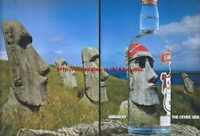 "Smirnoff Vodka ""Rock"" 1993 Magazine Advert #3073"