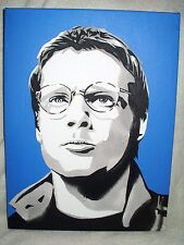 Canvas Painting Stargate SG1 Michael Shanks Dr Jackson Art 16x12 inch Acrylic