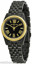 Michael Kors MK3299 Lexington Black Dial Black Ion Plated Women's Watch