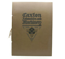 Caxton Company Designers Automobile and Machinery Illustrations Booklet 1975
