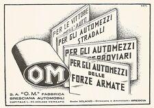 W9670 Fabbrica Bresciana Automobili - Pubblicità del 1936 - Old advertising